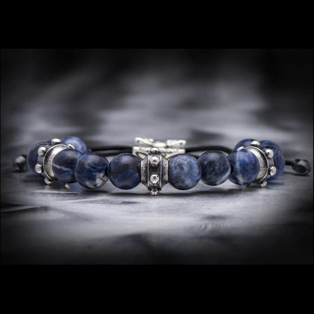 Men's Sodalite Dauntless Bracelet - BB24 SOD-William Henry-Renee Taylor Gallery
