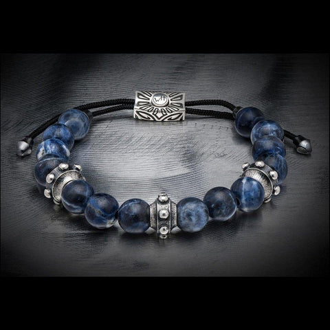 Men's Sodalite Dauntless Bracelet - BB24 SOD - William Henry