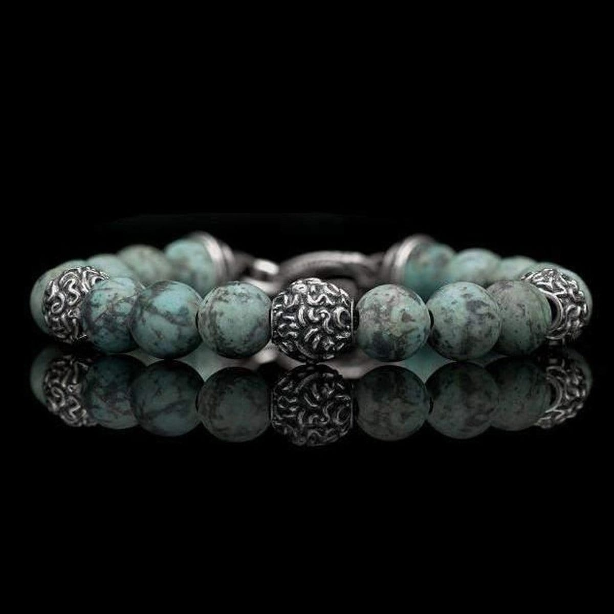 Men's Verdigris Bracelet - BB16 TQ-William Henry-Renee Taylor Gallery