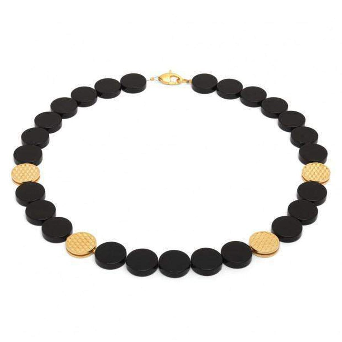 Mescier Onyx Necklace - 81028806-Bernd Wolf-Renee Taylor Gallery
