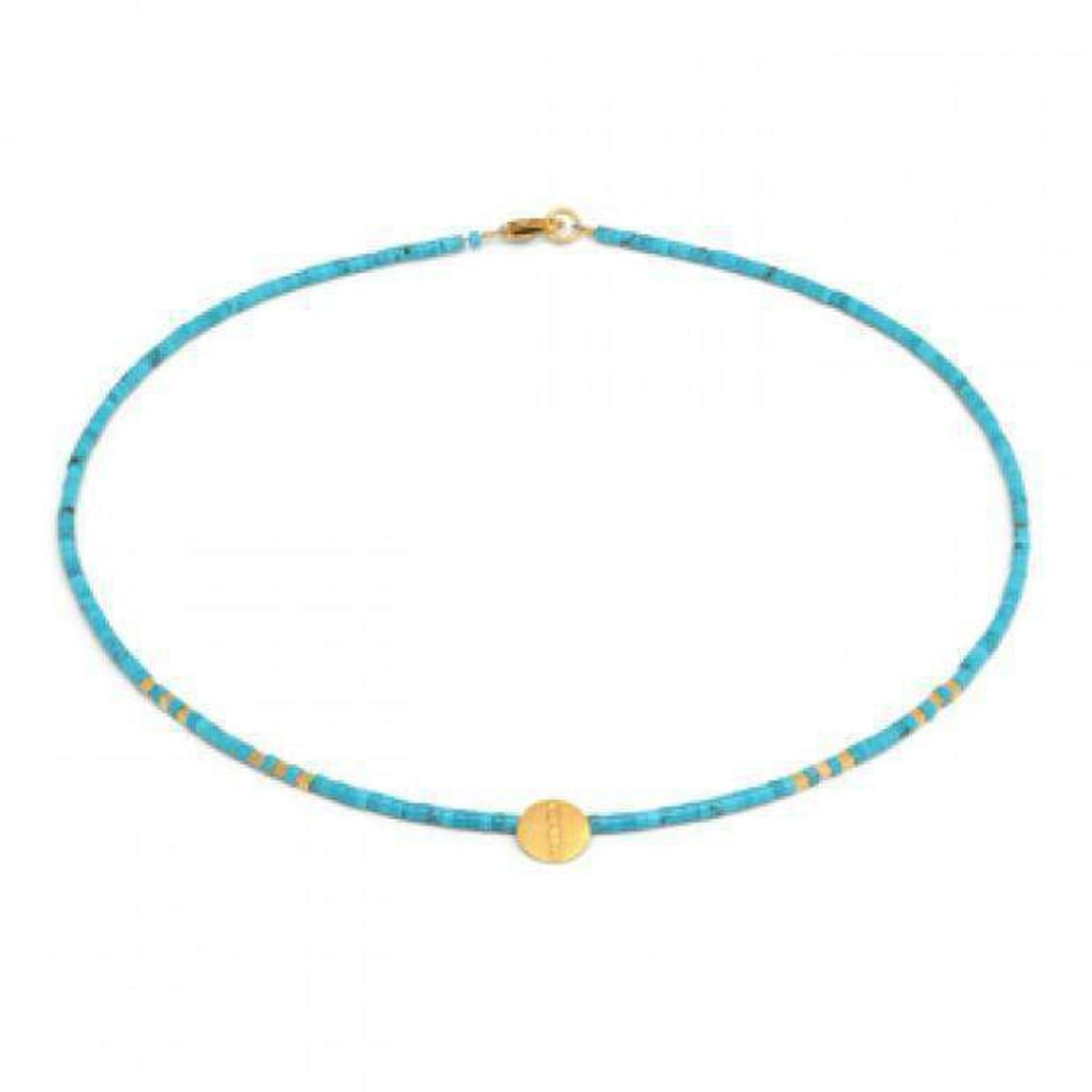 Moscubi Turquoise Necklace - 80922256-Bernd Wolf-Renee Taylor Gallery