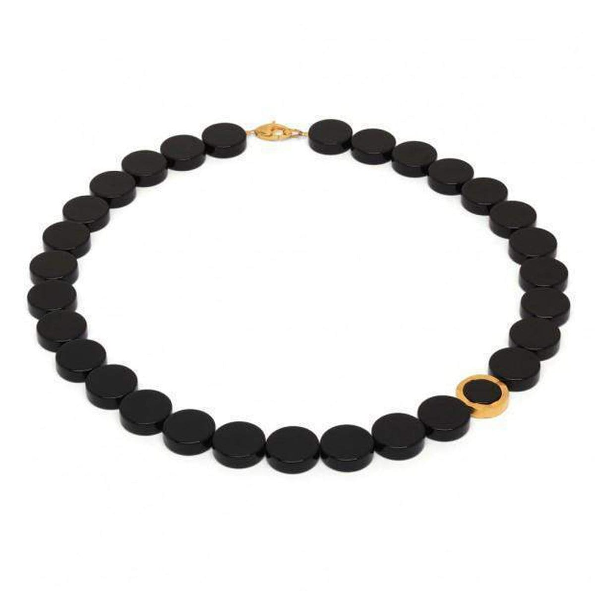 Mosuno Onyx Necklace - 81015806-Bernd Wolf-Renee Taylor Gallery