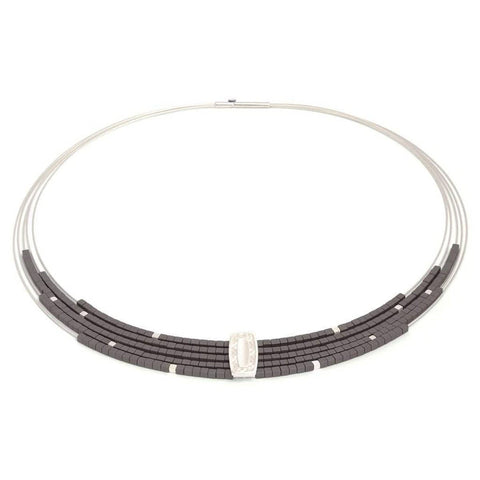 Movena Hematite Necklace - 84922274 - Bernd Wolf