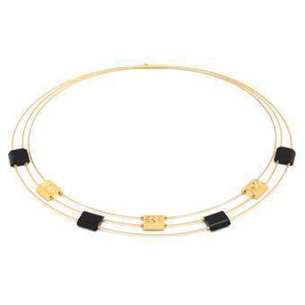 Movenia Onyx Necklace - 84840896-Bernd Wolf-Renee Taylor Gallery
