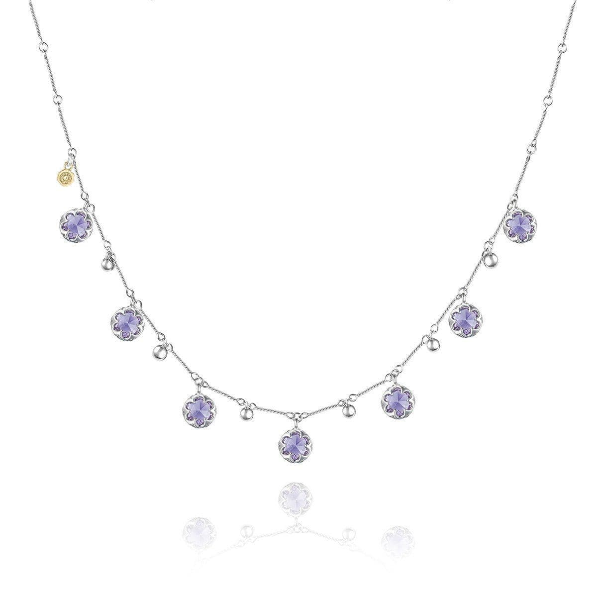 Multi-Gem Drop Necklace with Amethyst - SN20501-Tacori-Renee Taylor Gallery