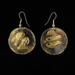 NBE04 Earrings-Creative Copper-Renee Taylor Gallery