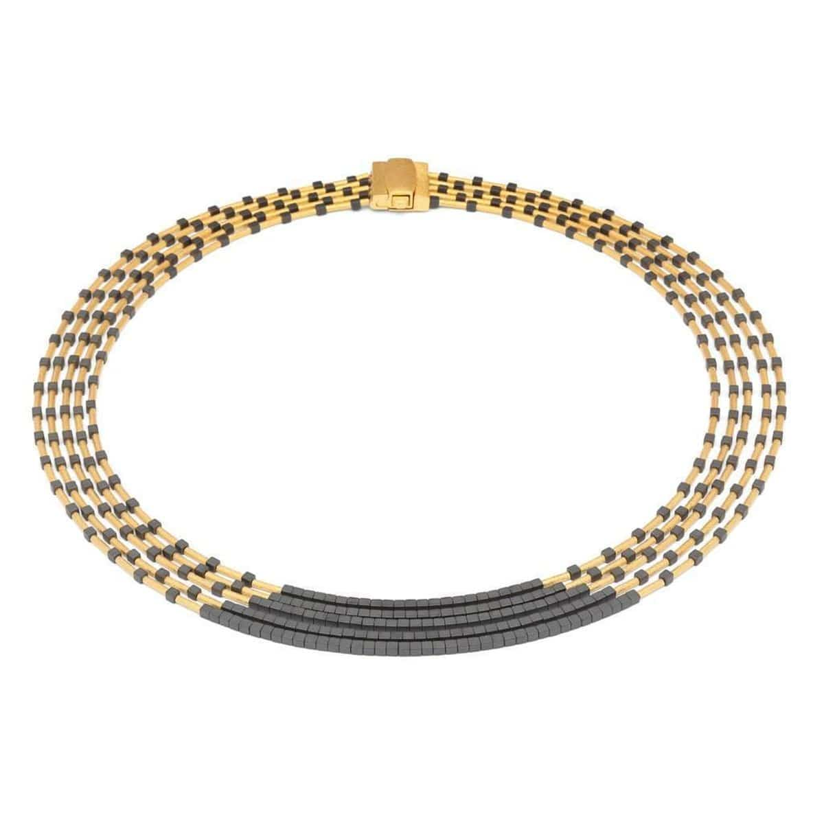 Nofrete Hematite Necklace - 84019276
