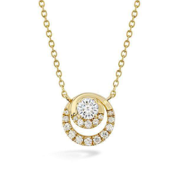 Optima Diamond Pendant & Chain - HFPOPT00408 - Hearts on Fire