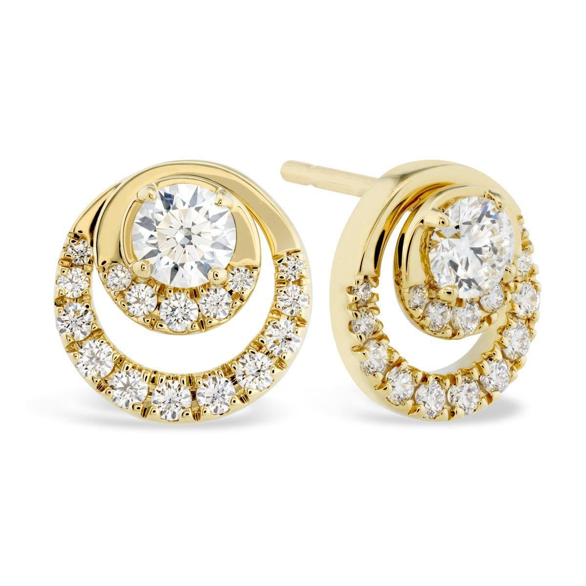 Optima Diamond Stud Earrings - HFEOPT00788-Hearts on Fire-Renee Taylor Gallery