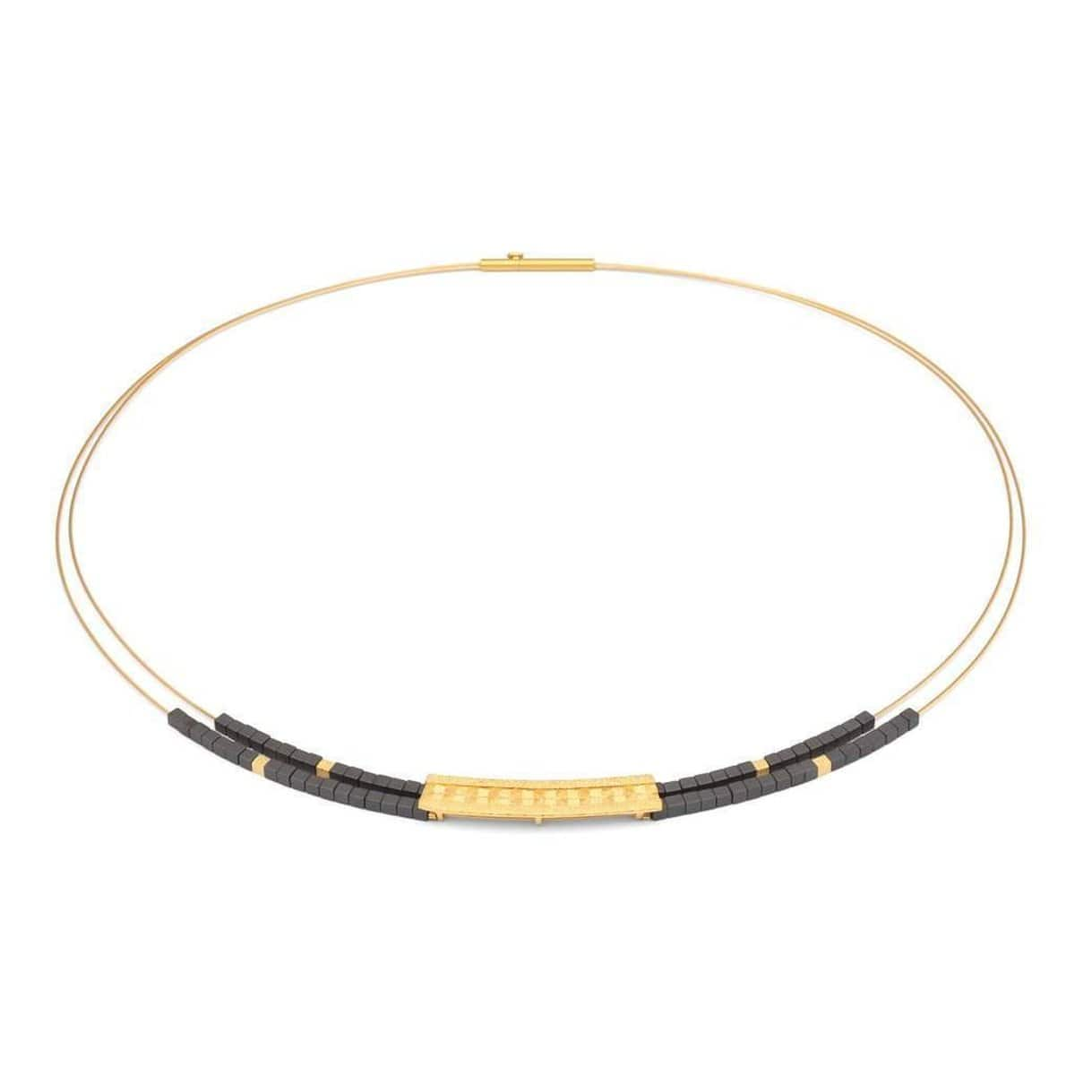 Orelia Hematine Necklace - 85014276