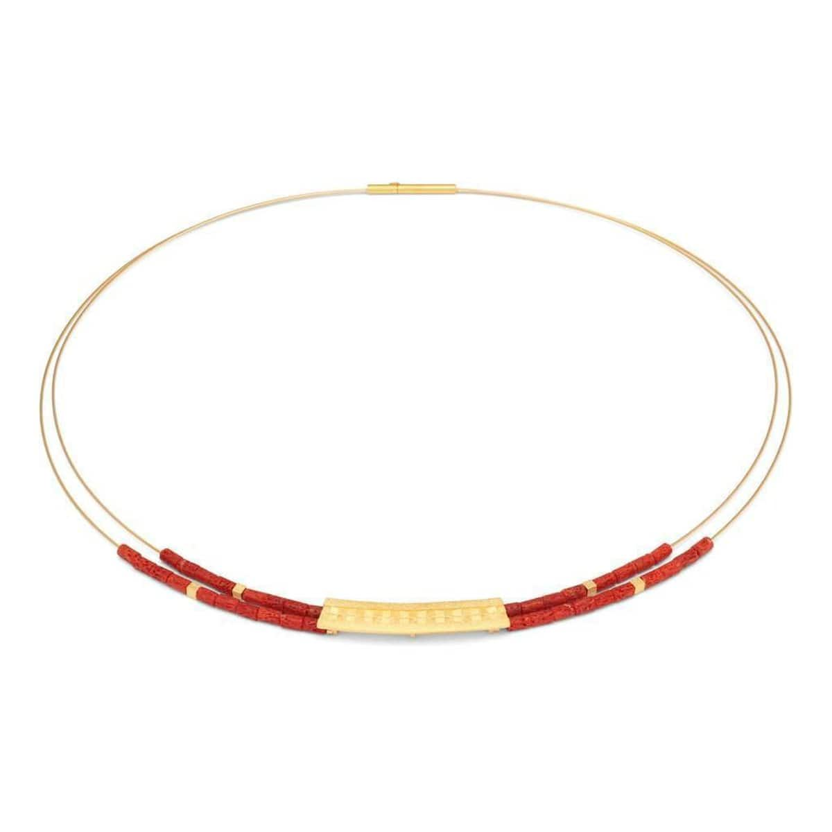 Orelia Red Coral Necklace - 85014296
