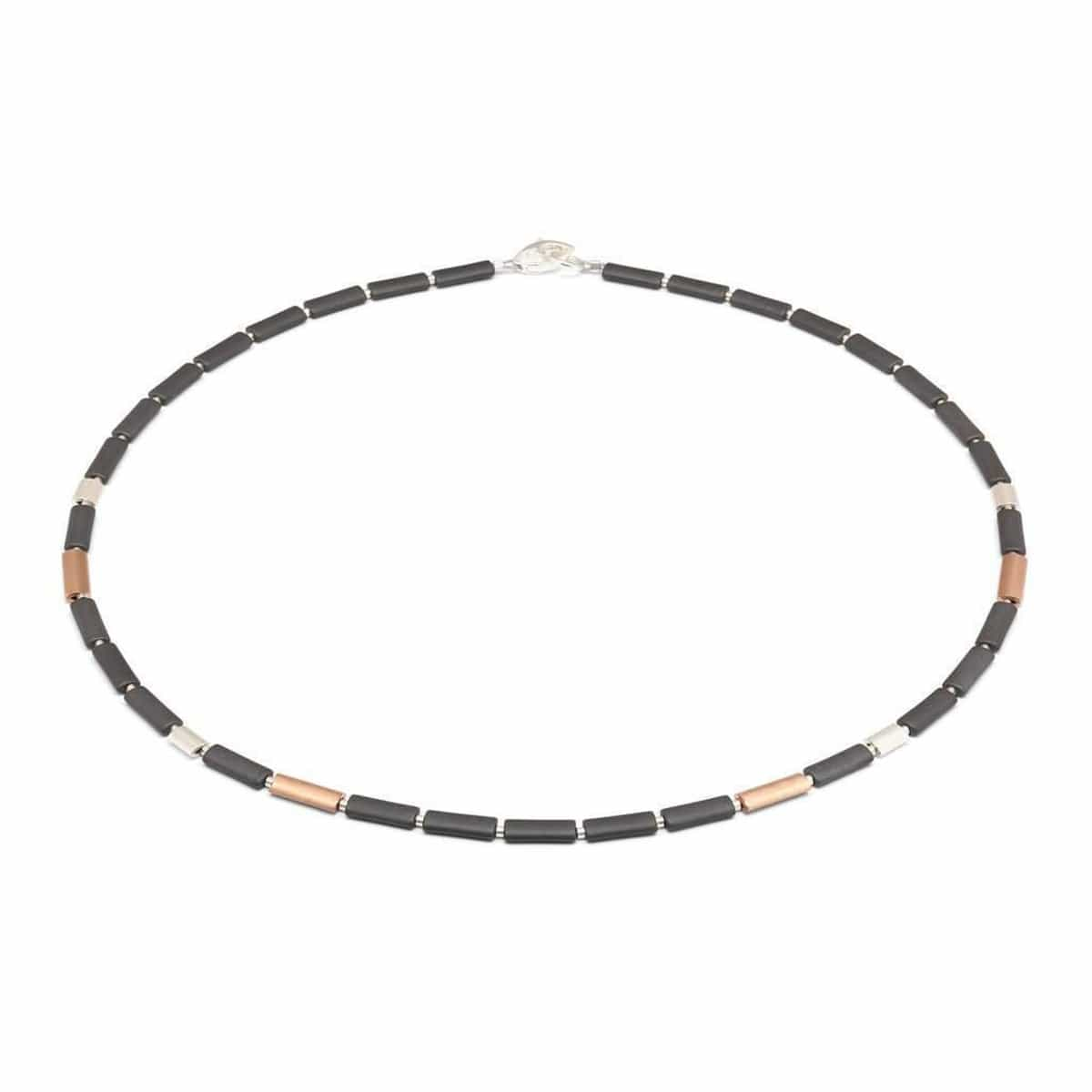 Ovalsa Hematite Necklace - 85738275