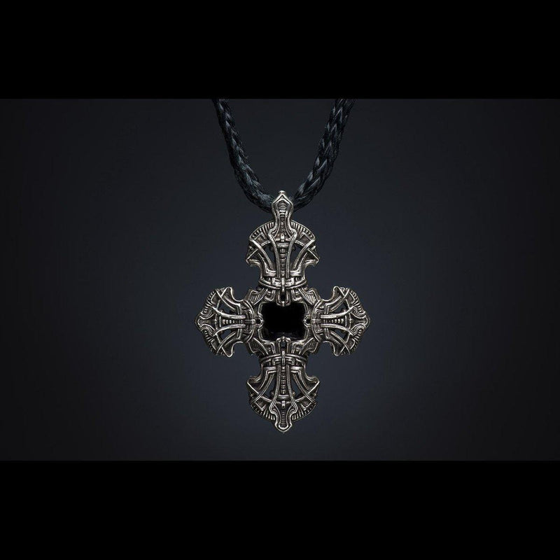 Men's Kells Cross IV Necklace - P10 FC-William Henry-Renee Taylor Gallery