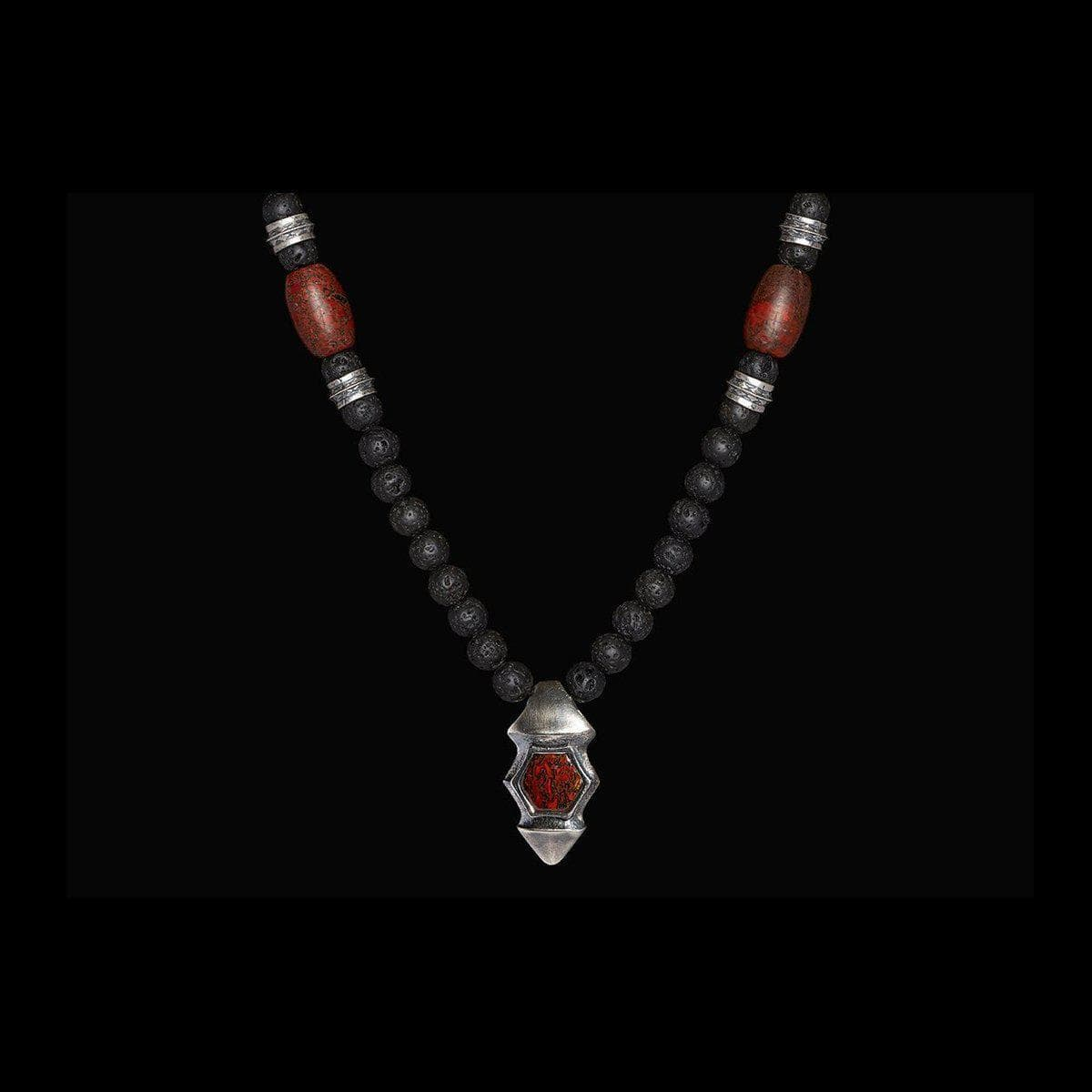 Men's Dino Verve Necklace - P28 MT BR-William Henry-Renee Taylor Gallery
