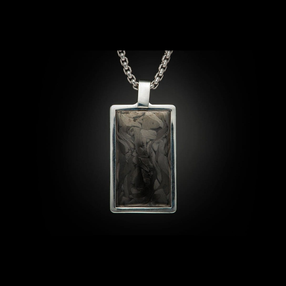 Men's Carbon Pinnacle Necklace - P43 CF-William Henry-Renee Taylor Gallery