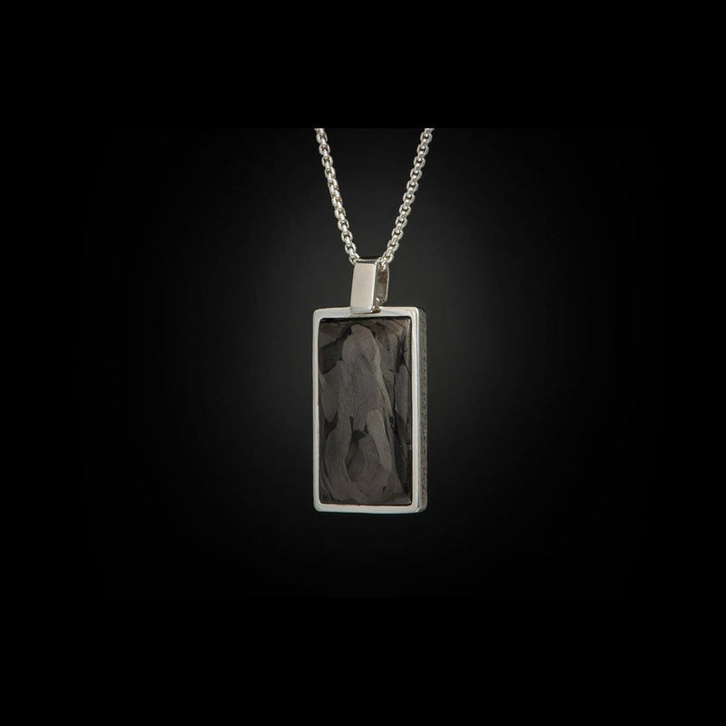 Men's Carbon Shift Necklace - P44 CF-William Henry-Renee Taylor Gallery