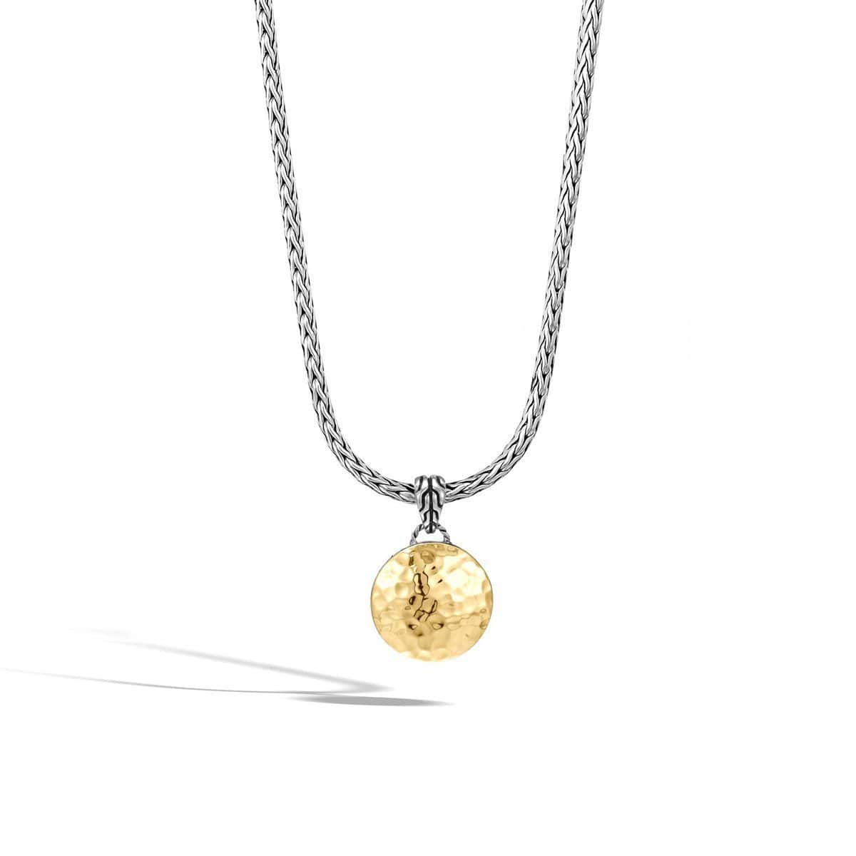 Dot Palu Gold & Silver Pendant Necklace - NZ7158