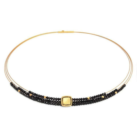 Parisan Black Spinel Necklace - 84935496-Bernd Wolf-Renee Taylor Gallery