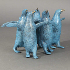 """Penguin Small Group""-Loet Vanderveen-Renee Taylor Gallery"