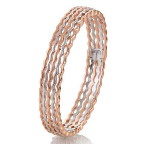 Rose Gold Plated Sterling Silver Bracelet - 54/00822 - Breuning
