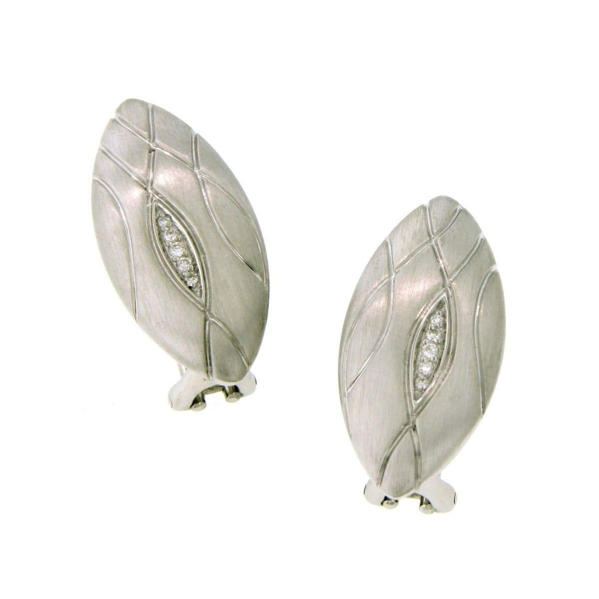Sterling Silver Diamond Earring - 01/83661