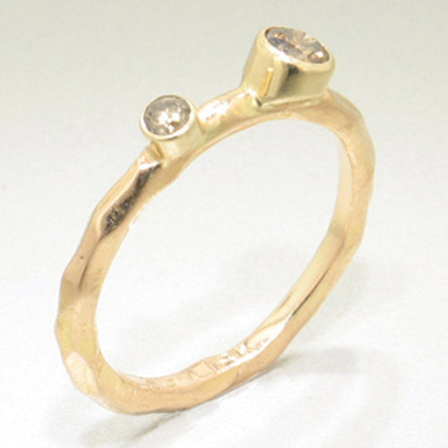 Rogue River Stacking Diamond & Rose Gold Ring - 43R11G732762-RG-Sarah Graham-Renee Taylor Gallery