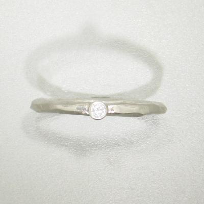 Rogue River Stacking Diamond White Gold Ring 43r11g731 Wg