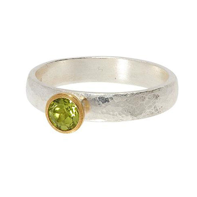 Round Peridot Skittle Ring - SR-390-PD5-RD-GURHAN-Renee Taylor Gallery
