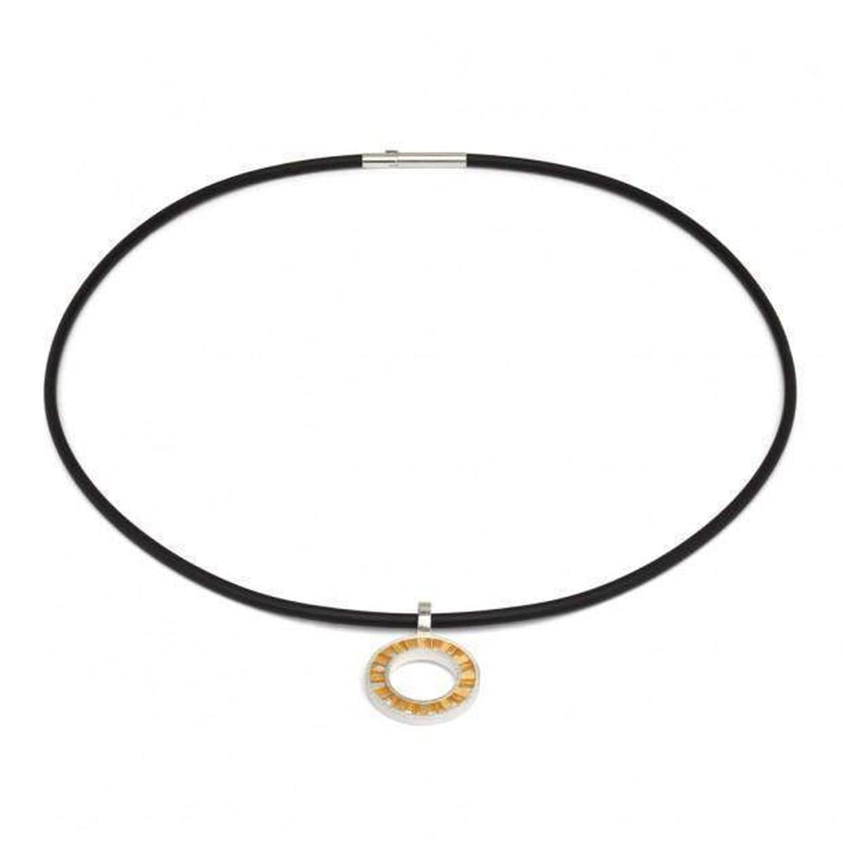 Roundabout Bicolor Necklace - 85375584-Bernd Wolf-Renee Taylor Gallery