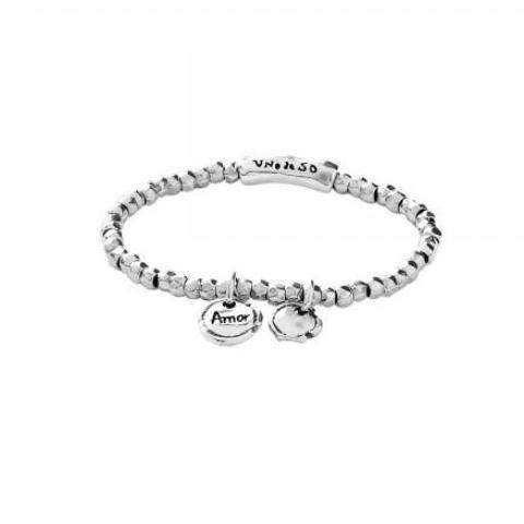 Sealed Love Bracelet - PUL1596MTL000-UNO de 50-Renee Taylor Gallery