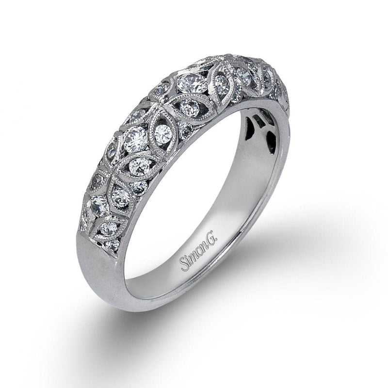 Serenade Anniversary White Gold & Diamond Band - MR1523-W-Simon G.-Renee Taylor Gallery