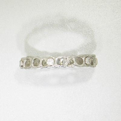 Shadow Diamond & White Gold Ring - 40R1-3-1G-WG-Sarah Graham-Renee Taylor Gallery