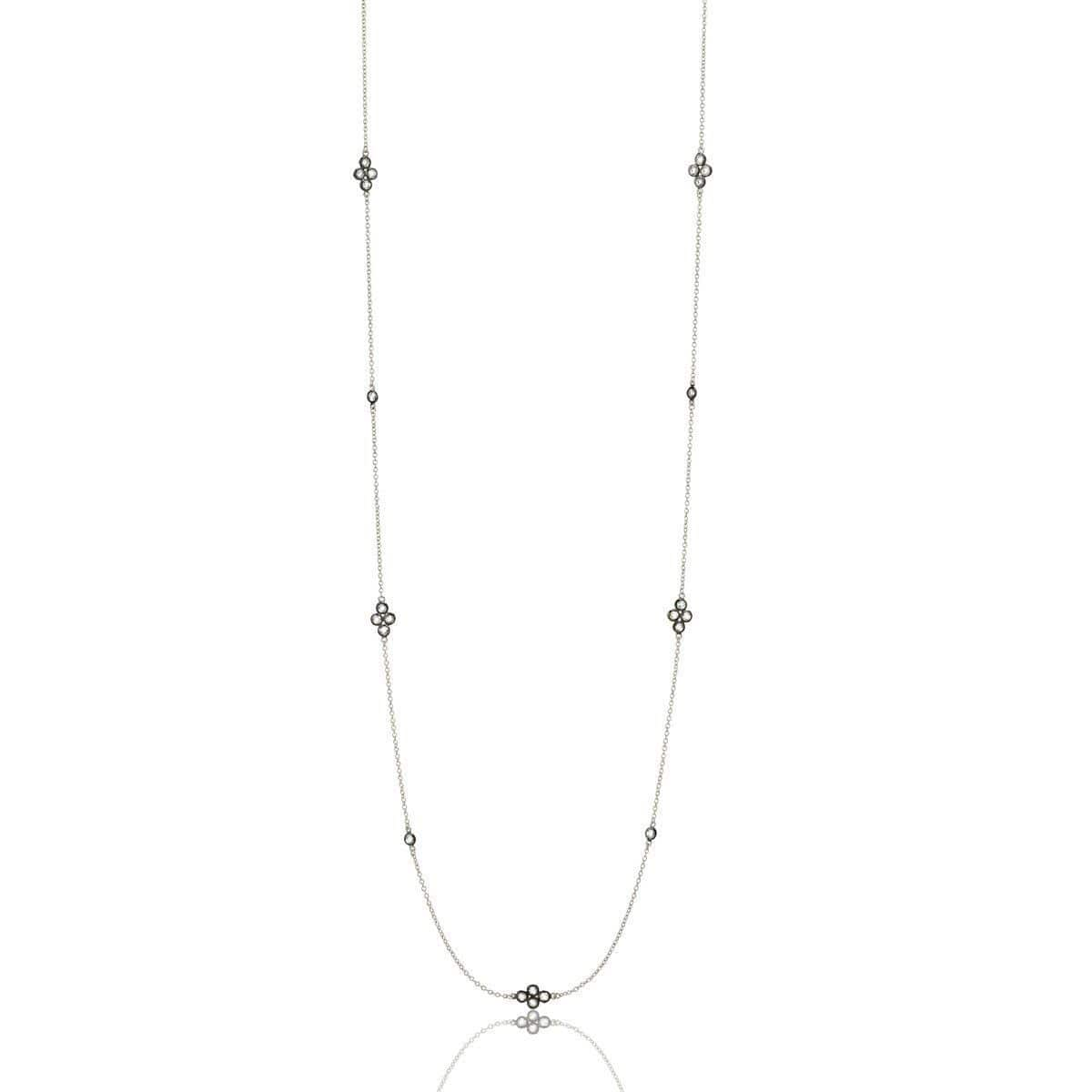Signature Four Point Station Necklace - PRZ070055-40