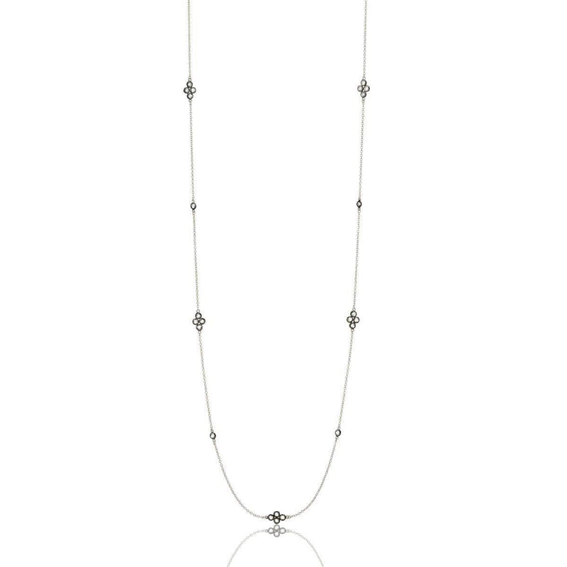 Signature Four Point Station Necklace - PRZ070055-40-Freida Rothman-Renee Taylor Gallery
