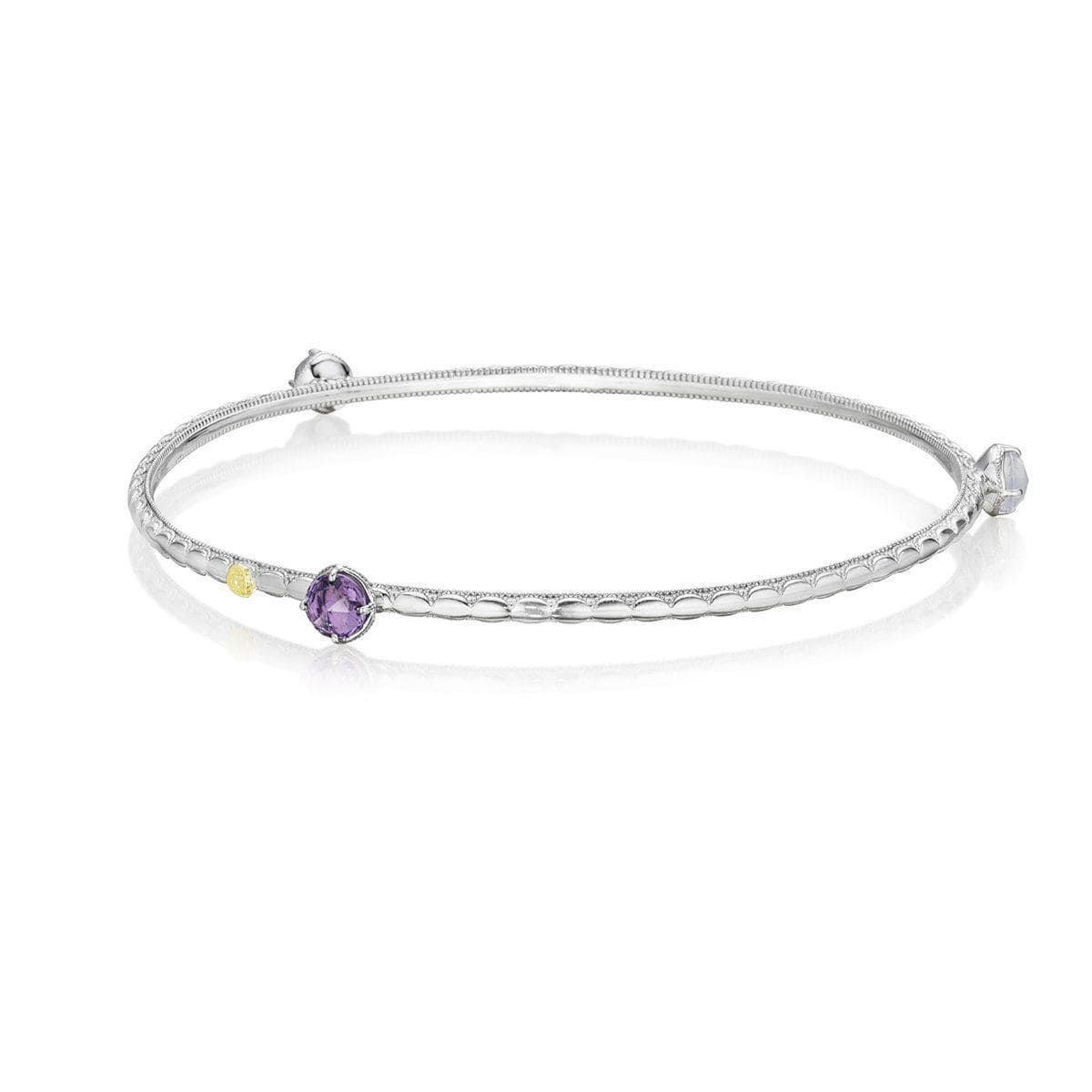 Silver 5mm Round Multi Color Bangle - SB121130126 - Tacori