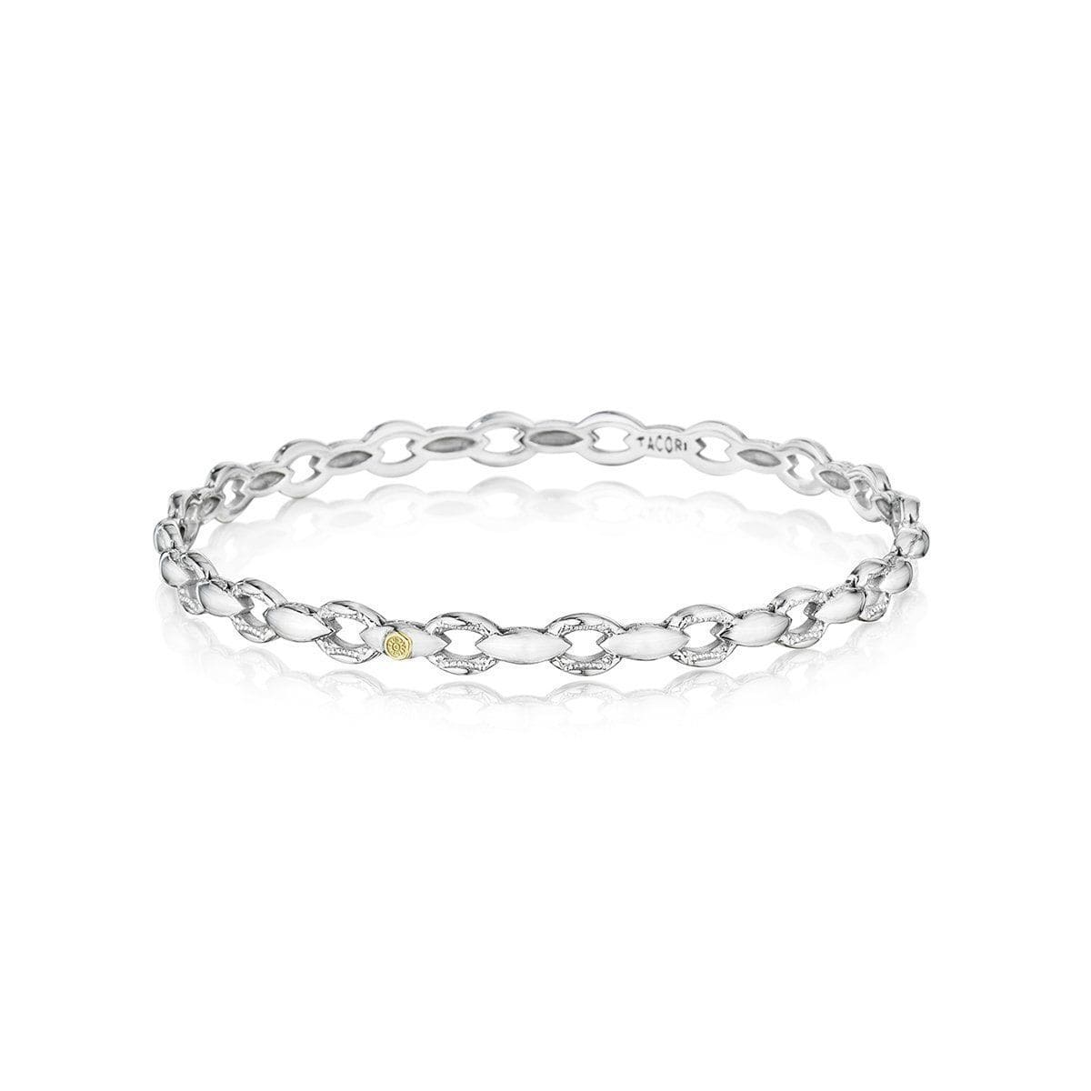Silver Slip On Bangle - SB187