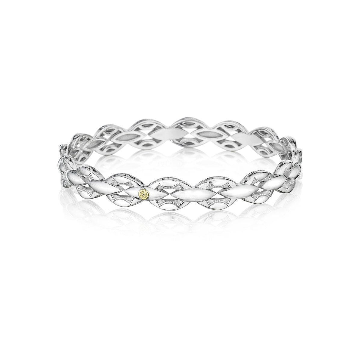 Silver Slip On Bangle - SB189-Tacori-Renee Taylor Gallery