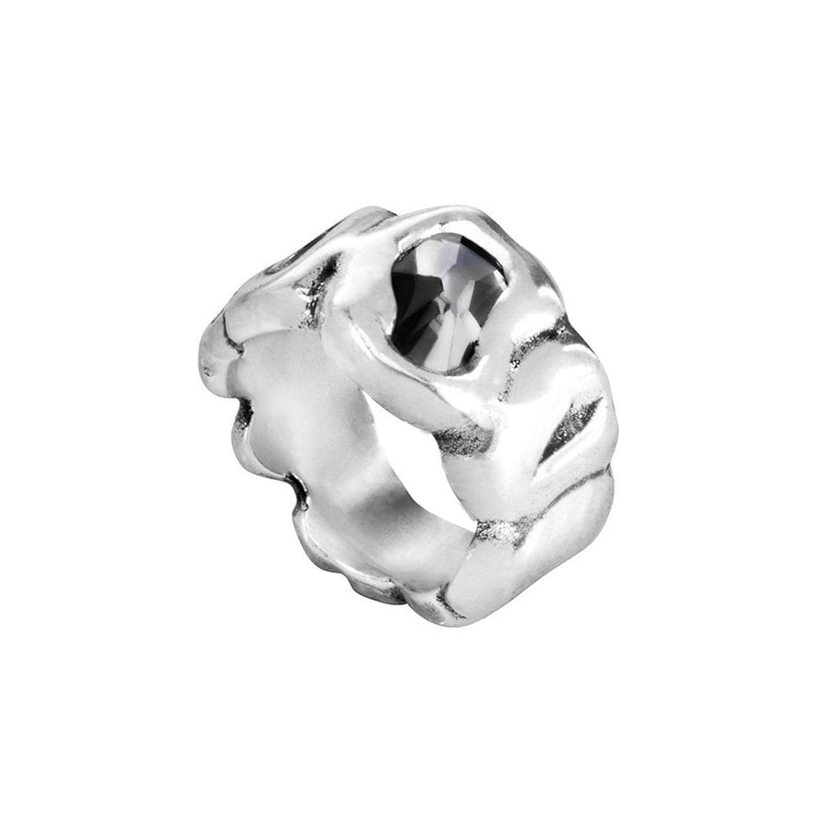 Sinner Layered Silver Ring - ANI0518GRSMTL-UNO de 50-Renee Taylor Gallery