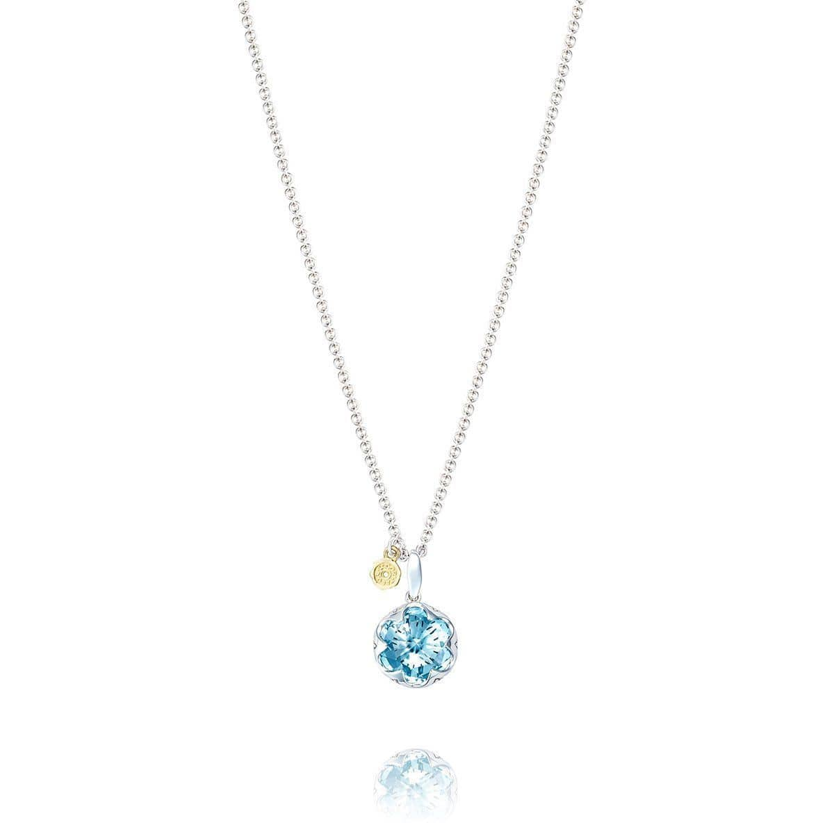 sterling jewelry gemstone topaz silver original chain blue sweep pendant products collections necklace