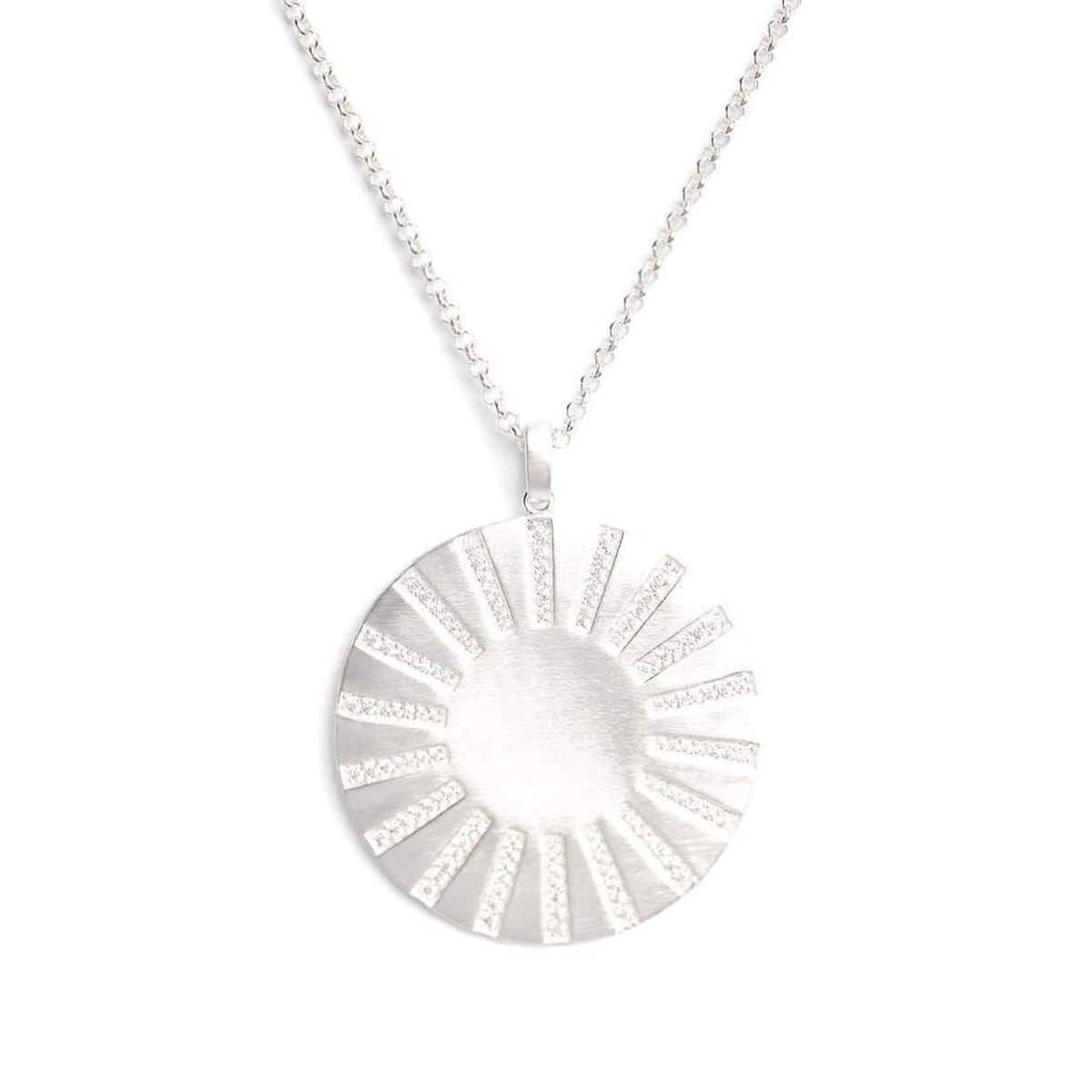 Sonne Zirconia Necklace - 85312154