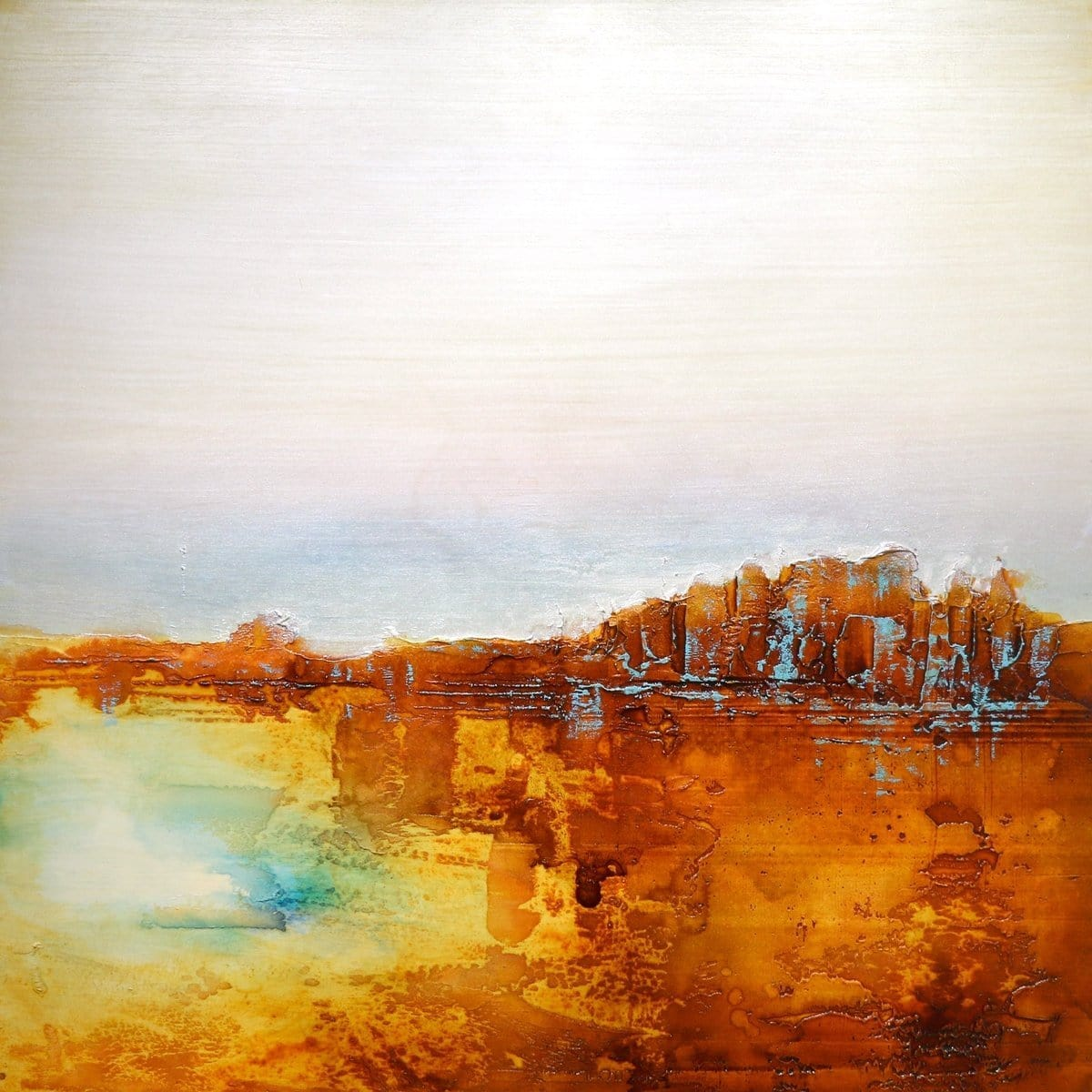 """Southwest Horizon II""-Dennis Smith Carney-Renee Taylor Gallery"