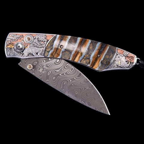 Spearpoint African Savanna Limited Edition Knife - B12 AFRICAN SAVANNA-William Henry-Renee Taylor Gallery