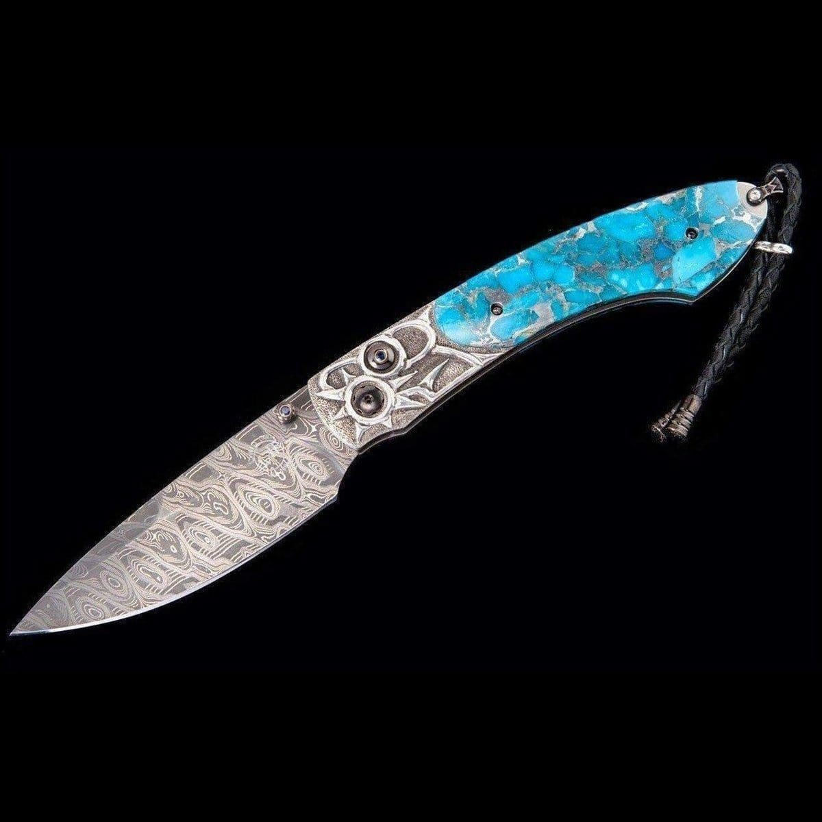 Spearpoint Birdseye Limited Edition Knife - B12 Birdseye-William Henry-Renee Taylor Gallery