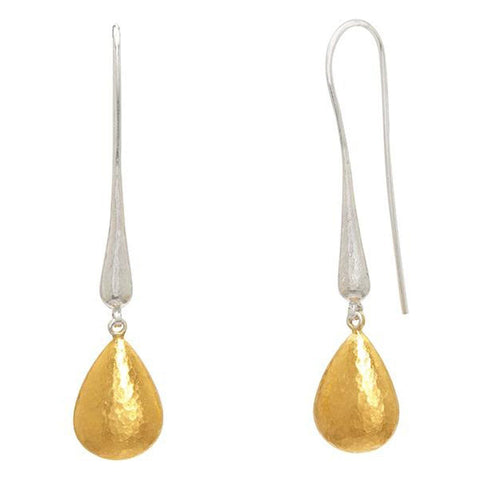 Spell Sterling Silver 24k Layered Gold Earrings - SEHC-PDR-G-GURHAN-Renee Taylor Gallery