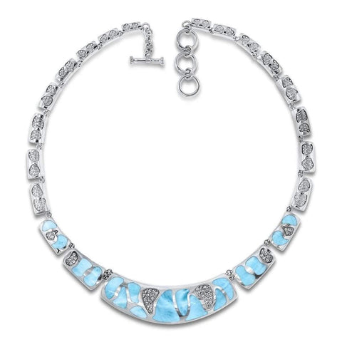 Surf Necklace - Nsurf01-00 - Marahlago Larimar