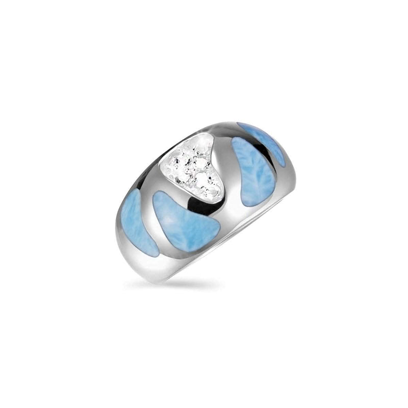 Surf Ring - Rsurf00-00-Marahlago Larimar-Renee Taylor Gallery
