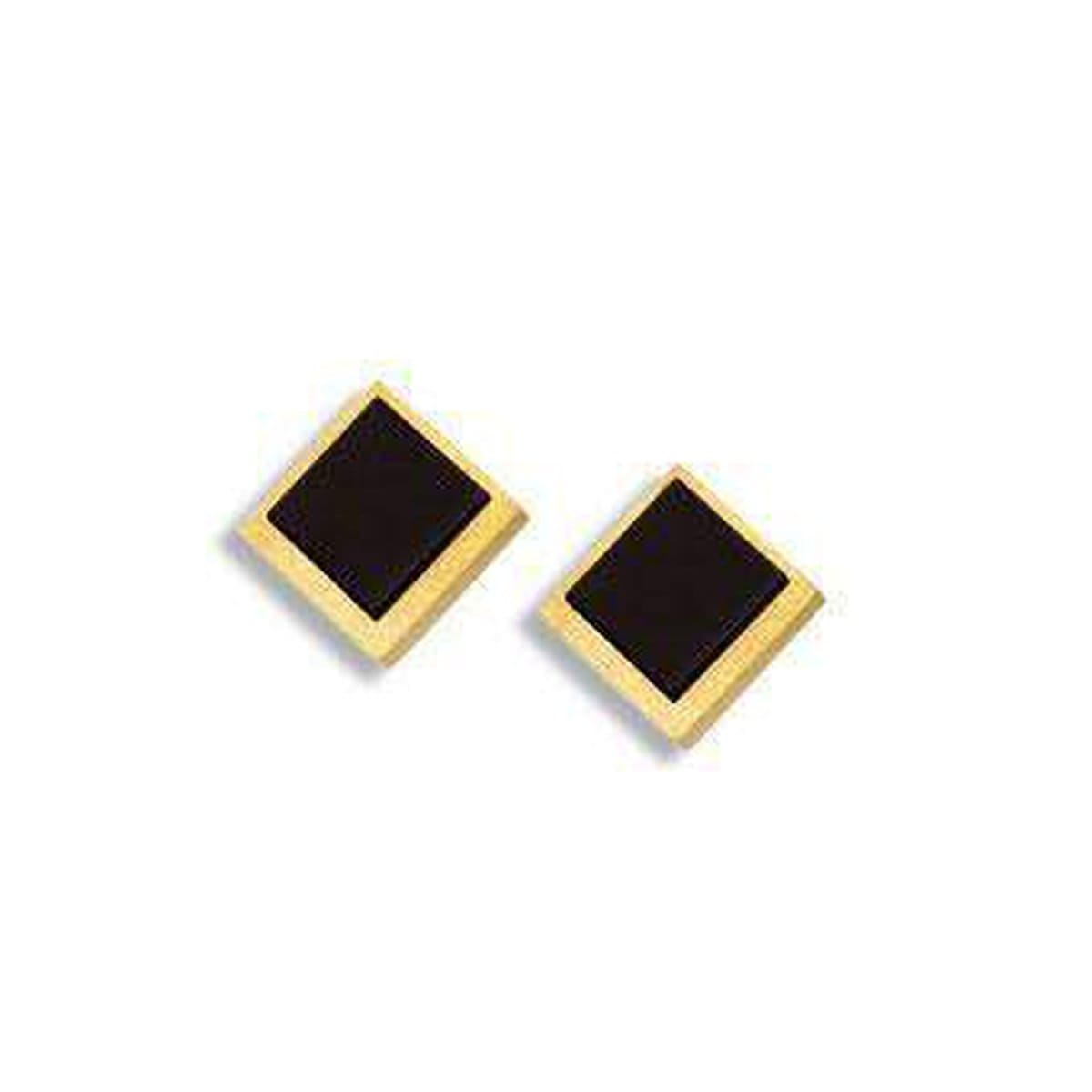 Tabos Onyx Pin Earrings - 19521896