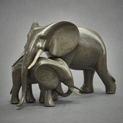 """Tender Elephants"" - Loet Vanderveen"