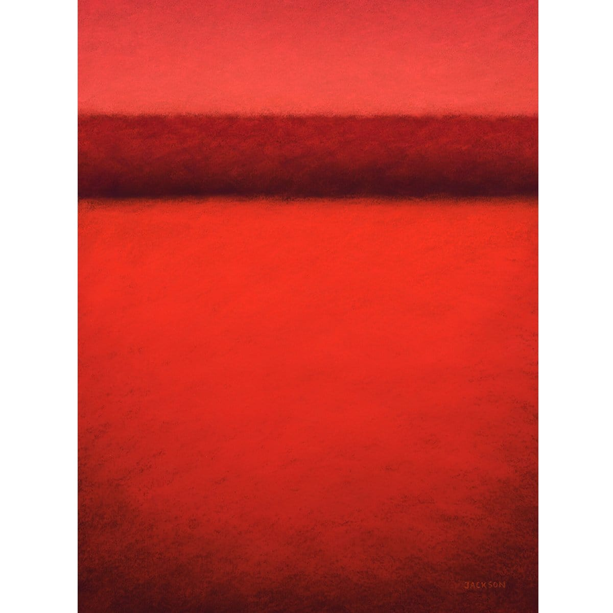 """The Landscape In Red""-Christopher Jackson-Renee Taylor Gallery"