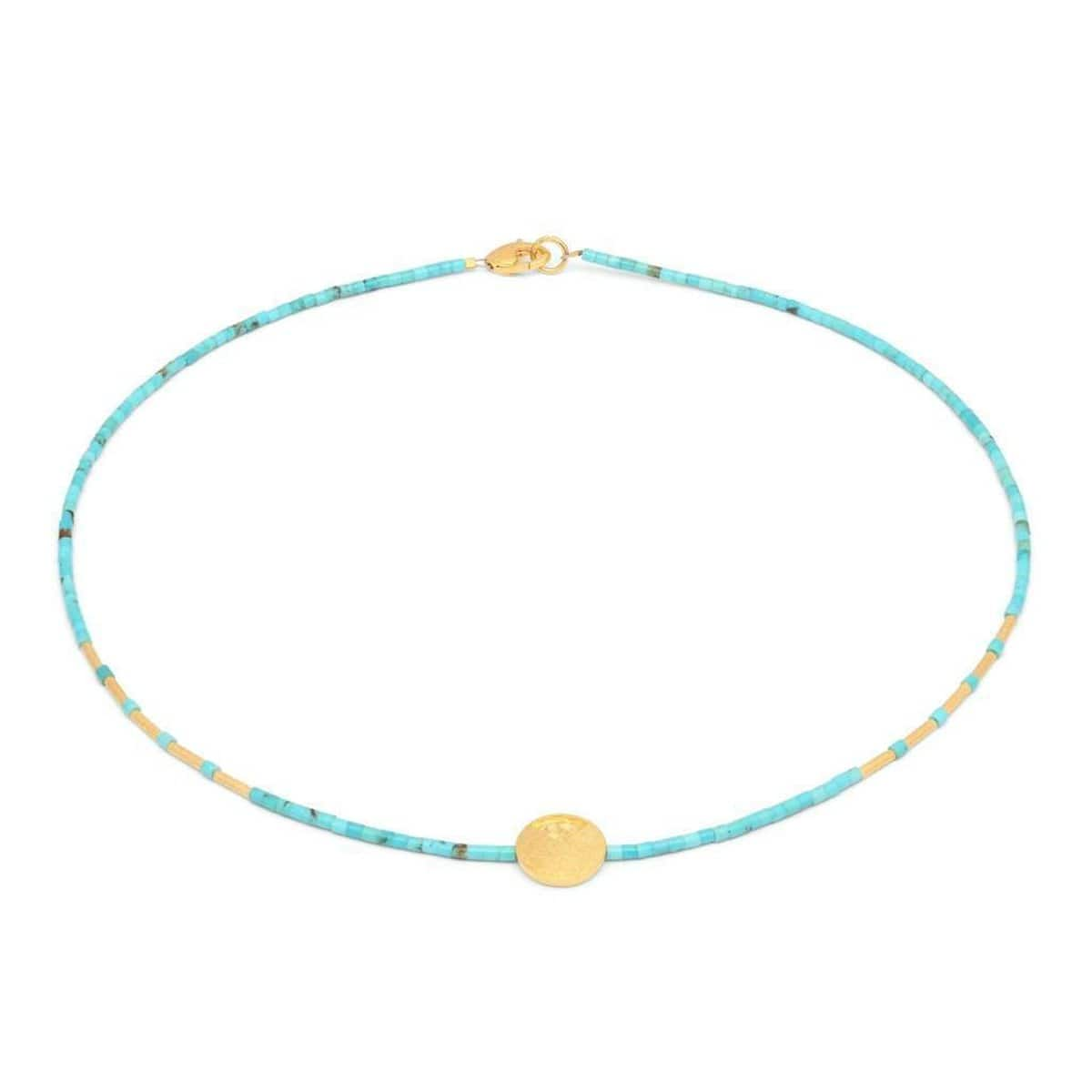 Tori Turquoise Necklace - 80918256-Bernd Wolf-Renee Taylor Gallery